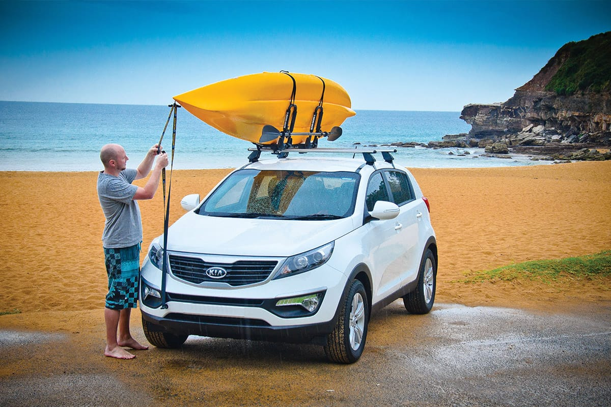 Rhino Folding J Style Kayak Carrier S512 Roof Carrier
