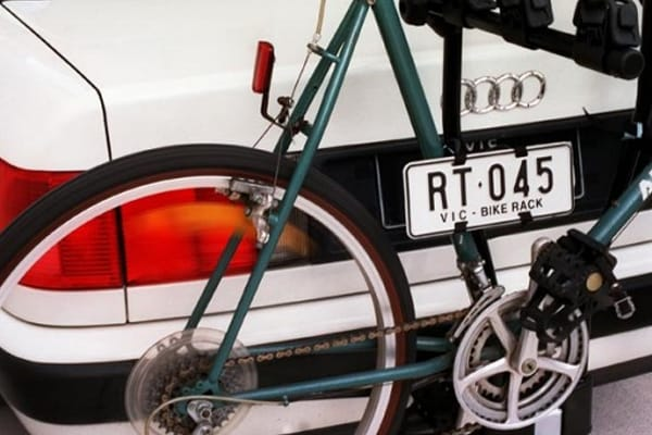 A bicycle rack is usually fitted to the towbar or attached to the boot of your car. Safety tips & Bike Carrier Laws (VicRoads) | Roof Carrier Systems
