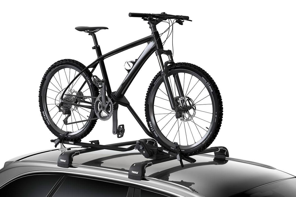 roof mounted thule circuit rack mount carrier carrierrhino sc com fork hybrid bicycle carid st bike
