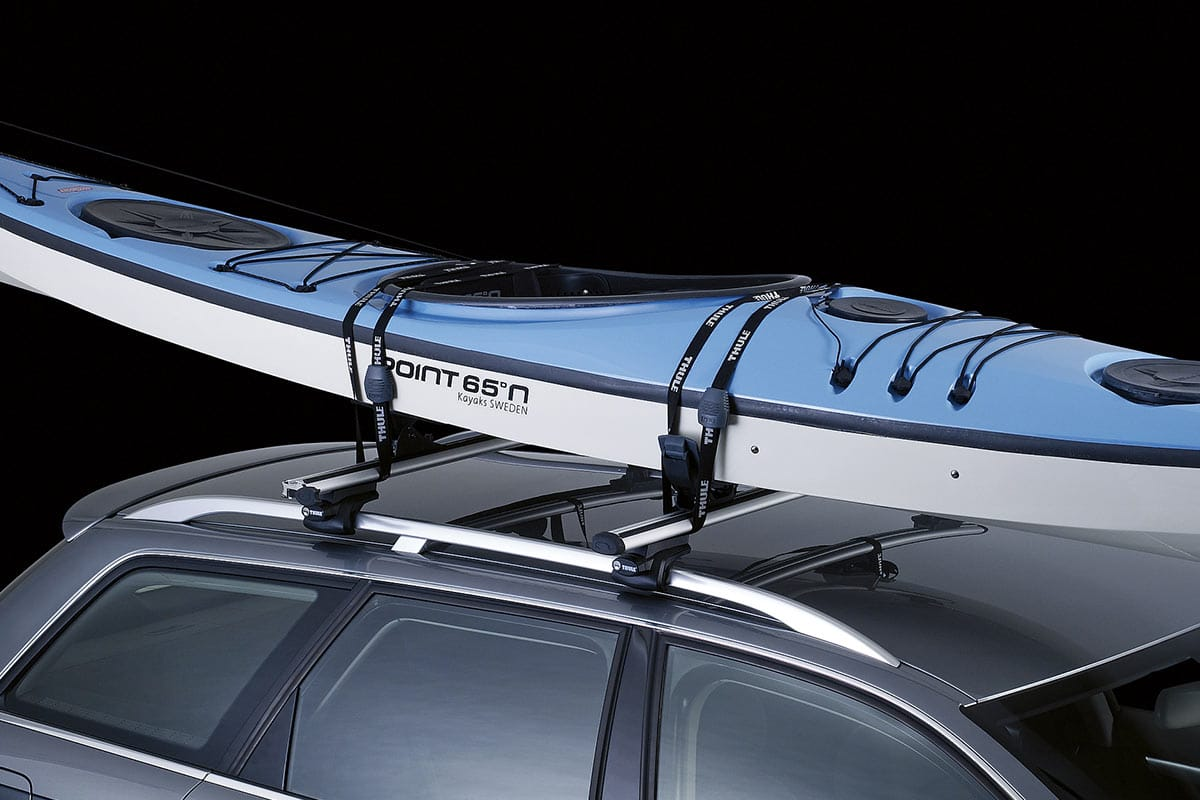 carrier car southwind products systems kayak slipstream loading center rack thule