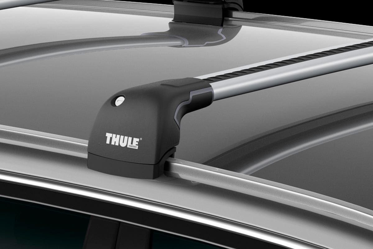 thule wingbar edge fixed and solid rail mount roof. Black Bedroom Furniture Sets. Home Design Ideas